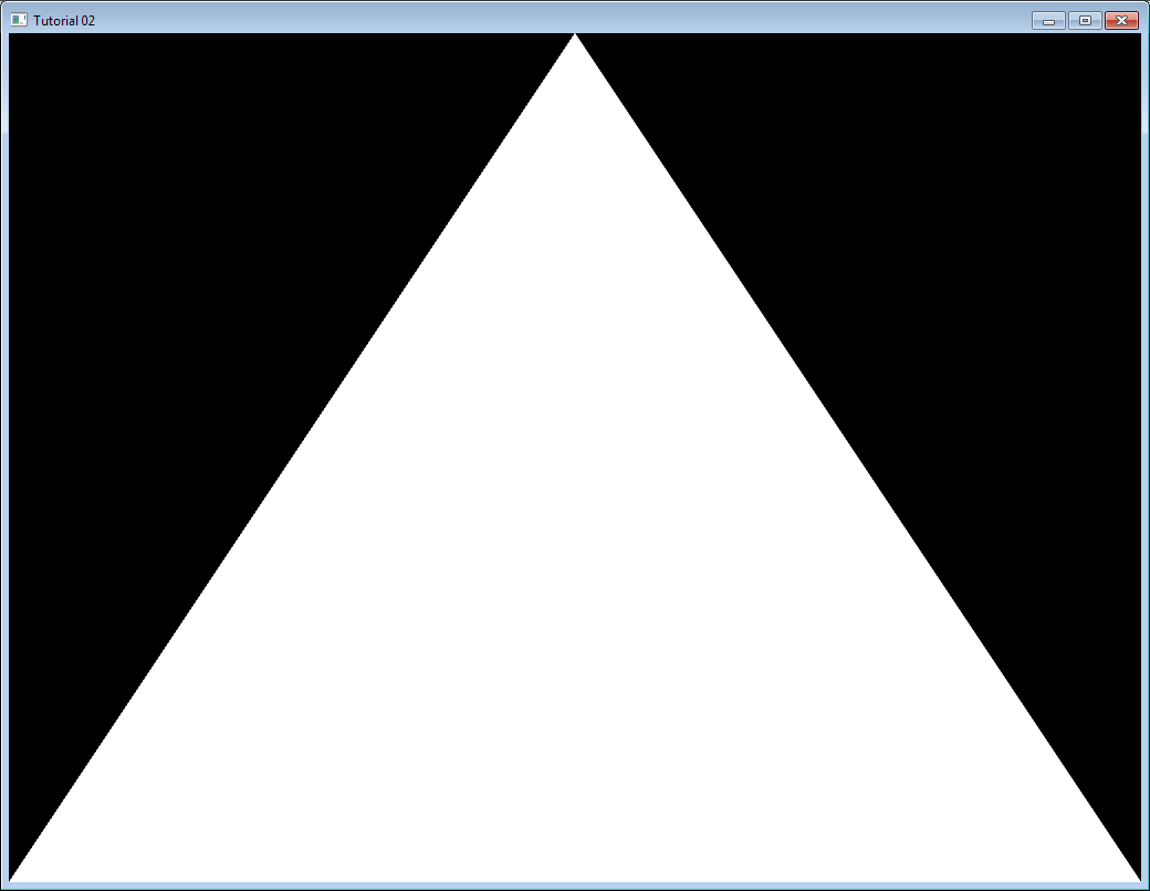 Vector Drawing Lines Opengl : Tutorial the first triangle